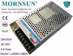 Mornsun LM200-12B36 Power Supply