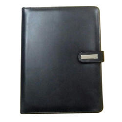 Black Document File Folder