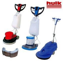 Single Disc Scrubber Machine