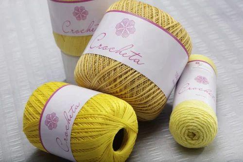 Hp Crochet Cotton Knitting Threads H P Cotton Textile Mills