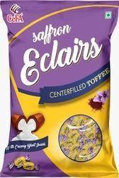 Center Filled Saffron Flavoured Toffee