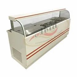 White Korean Dairy Counter, For Commercial