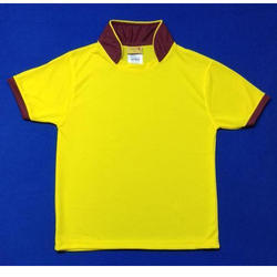 Lycra Cotton Collar Sport T Shirt