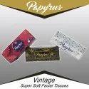 Plain Papyrus Vintage Super Soft Face Tissue Paper, Packing Type: Box