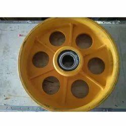 Direveter Wheel 400mm Dia 10 Mm Rope 5 Groove