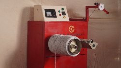 Paper Rope Twisting and Rewinding Machine