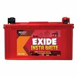 100Ah IB100 Exide Insta Bright Battery, Warranty: 36 Month, 12 V