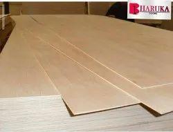 Poplar Skin 6 Mm Premium Gurujan, For Furniture, Size: 8 x 4