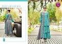 Designer Rayon Embroidery Palazzo Suit