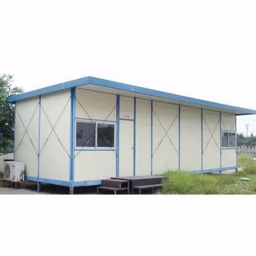 FRP,Steel Color Coated Prefabricated Modular Portable House