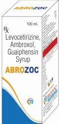 Levocetirizine, Ambroxol, Guaiphesin, Syrup