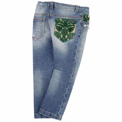 Denim Girls Regular Fit Jeans