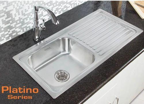 Hindware Kitchen Sink 37x18x8 Rs 7390 Piece Shree