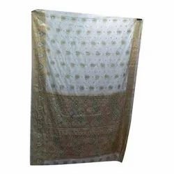 Casual Printed Silk Ladies Fashionable Saree, Packaging Type: Packet
