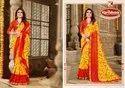 Printed Georgette Saree - Bhakti 02
