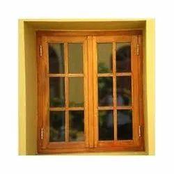 Sagwan Wooden Window