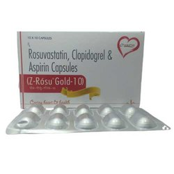 Rosuvastatin Clopidogrel and Aspirin Capsules