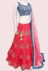 Punch Pink Navratri Special Chaniya Choli