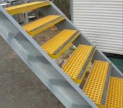 FRP Stair Case Grating