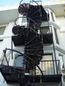 Cast Iron Spiral Stairs