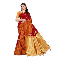 448 Traditional Art Silk Saree