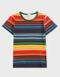 Casual Wear Printed 100% CottonT Shirts