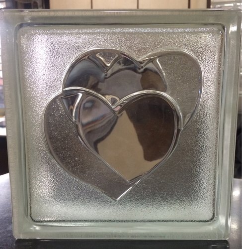 Heart Glass Brick