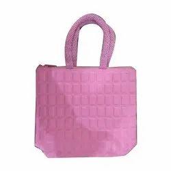 6d6c8633fc Pink Casual Wear Ladies Printed Casual Bag