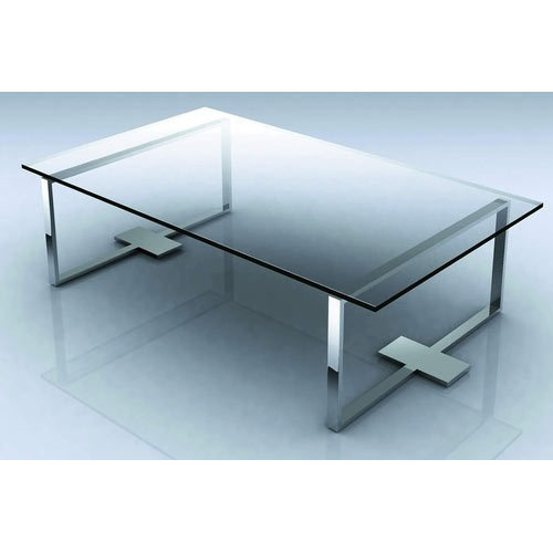 Ss Center Glass Table At Rs 22000 Piece Glass Center Table Id
