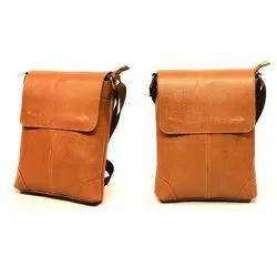 Plain Brown Bend Messenger Bag