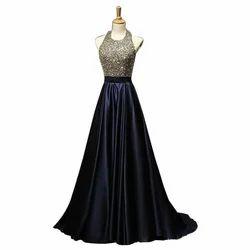Western Party Ladies Designer Long Gown