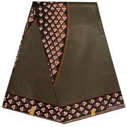 Polyester African Fabric, GSM: 50-100, Use: Bags & Backpacks