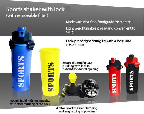 The Exclusive Sports Shaker Is A Stylish And Highly Function