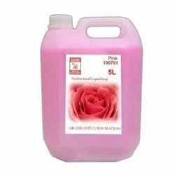 Rose Germicidal Hand Wash Pink Liquid Soap