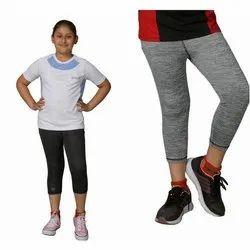 Zesteez Girls Sports Capri, Size: 12-14 Years