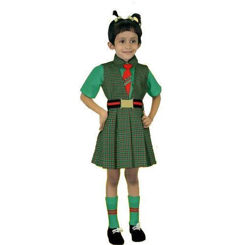 b24ca3ec2 Value Box Green And White Girls School Uniform, 2-5 Years, Rs 368 ...
