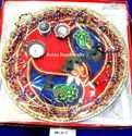 Ratna Religious Decorated Pooja Thali