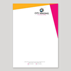 Paper Letter Head Offset Printing Service