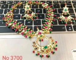 Polki Party Wear Necklace