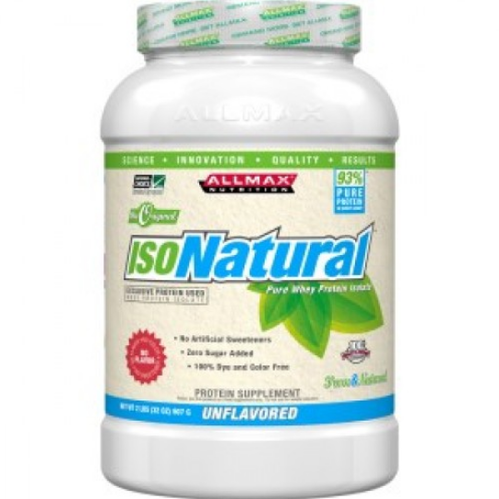 Allmax Iso Natural - Unflavoured - 2lbs