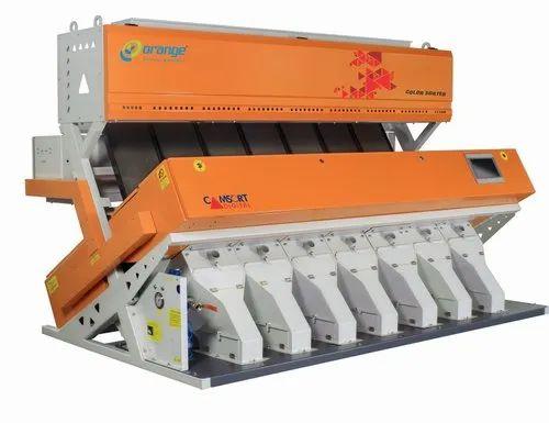 Orange Channa Dhal Sorting Machines, Capacity: 500 kg to 8 ton