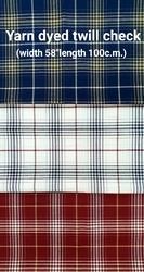 Yarn Dyed Twill Check