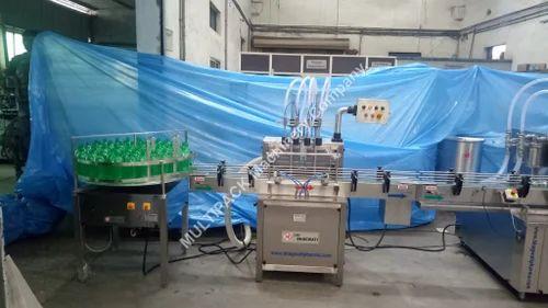 Liquid Bottle Filling Machines - Bulk Liquid Filling Machine