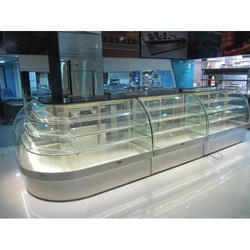 L Type Sweet Display Counter