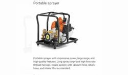 Petrol Engine Operated Portable Sprayer
