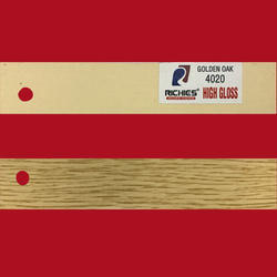 Golden Oak High Gloss Edge Band Tape
