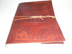 Taaj Embossed Handmade Leather Journal