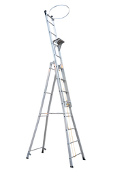 Aluminium Self Support Extendable Industrial Ladder