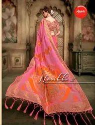 Apple Navibhu Vol-2 Cotton Silk Saree