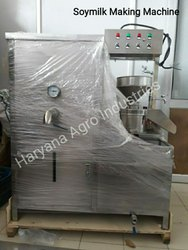 100 LPH Soya Milk Making Machine